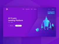 AI Cryptocurrency Lending Platform