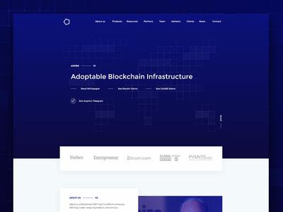 aXpire - Website Design