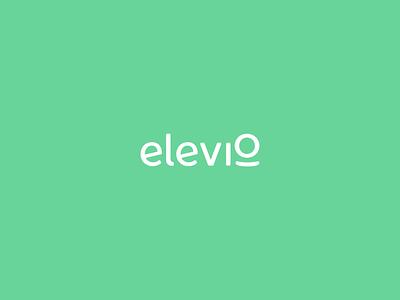 elevio logo animation typography aep vector branding logo design motion graphics animation