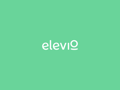 elevio logo animation typography aep vector branding logo design motion graphics animation