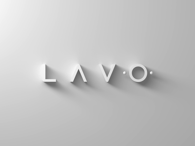 Lavo Logo Animation c4d cinema4d 3d logo branding motion graphics design animation