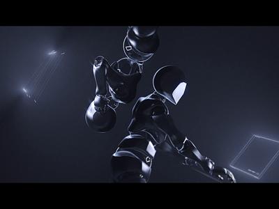 Surge Studio - Team Web Illustration c4d cinema4d ui team illustration 3d branding motion graphics design animation