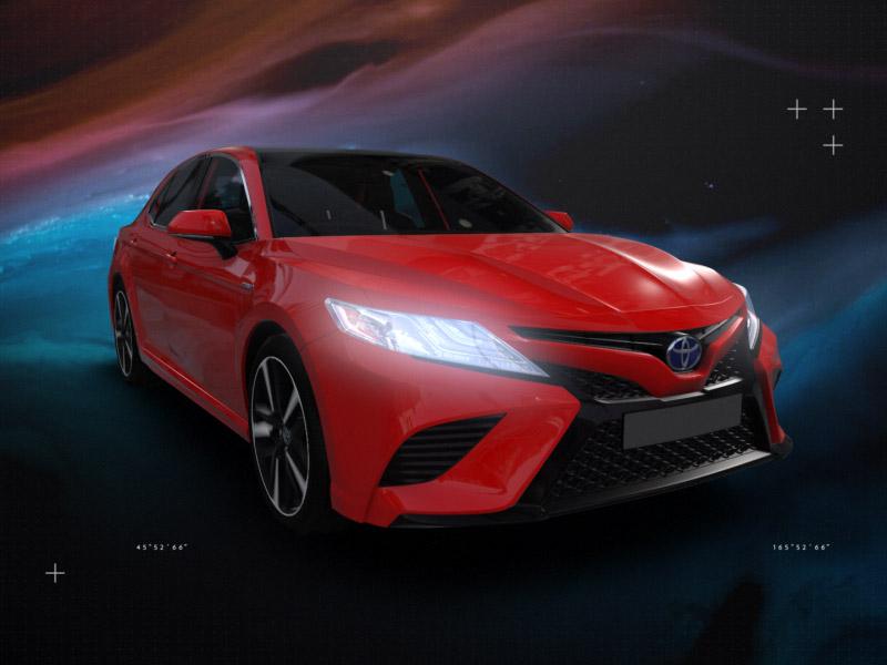 Toyota Hybrid | National Geographic Animation motion design animation geographic national hybrid toyota element 3d