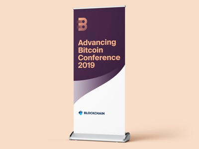 Advancing Bitcoin Conference - Pull up Banner