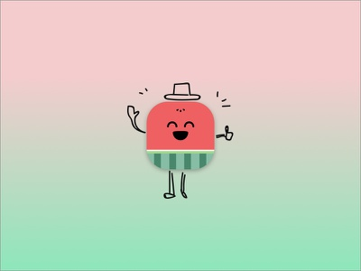 005 App Icon 005 dailyui juicy watermelon icon app
