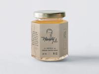 Henry's Honey - Vintage Label