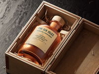 Rebranding concept for Six Isles whisky