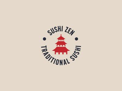 Sushi Zen - Logo Design