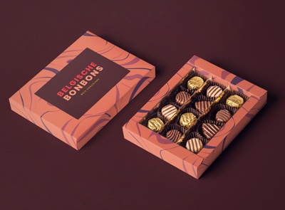 Minimal Chocolate Packaging Design