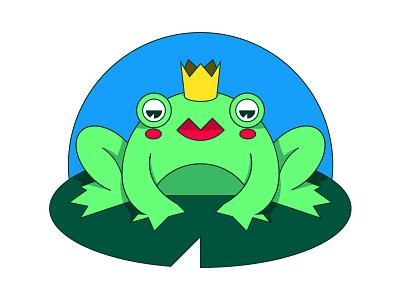 La reine des elfes illustration grenouille frog avatar