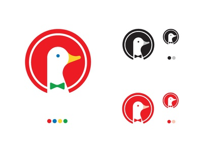 DuckDuckGo redesign logotype logo duckduckgo