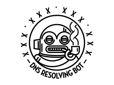 DNS Resolving Bot avatar logo logotype bot dns