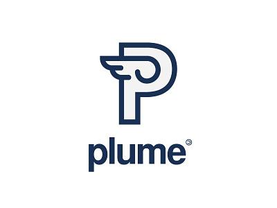 Plume fediverse logotype logo plume