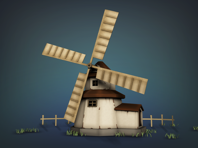 Mill c4d mill ios game