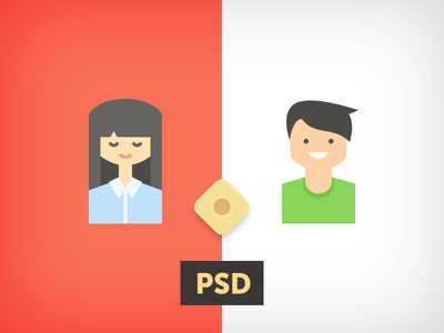 Girl or Boy .PSD