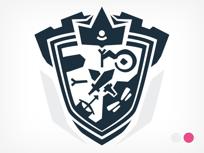Kingdom Clicker: Coat Of Arms by Smorodina on Dribbble