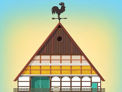 Farm: Kingdom Clciker farm vector town icon city 2d minimalism building game illustration flat