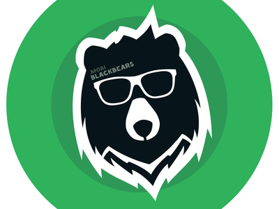 Black Bears Games bear logo