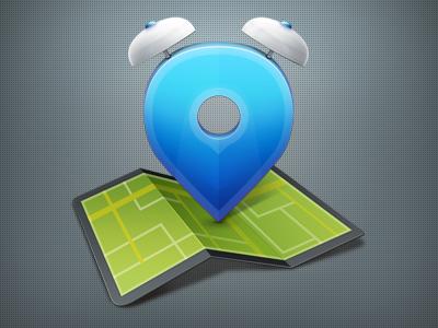 Geo-Tasker Icon icon location pin map alarm