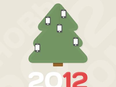 CirCard 2012 new year mobile card 2012