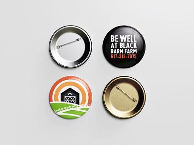 Be Well Buttons logo design design icon brand identity branding button farm wellness logo