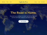 100 Days of UI — Day 3 — Landing Page