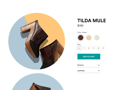 100 Days of UI — Day 12 — E-Commerce Shop