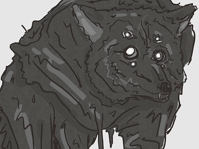 Endling 02 nightmare terror horror three eyed dead space wolf kevin pospisil