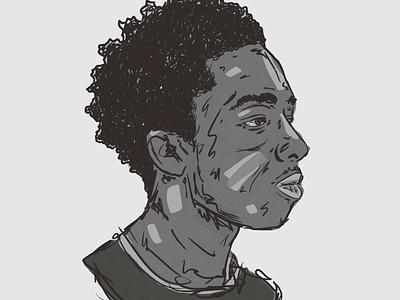 Endling 03 endling boy portrait character