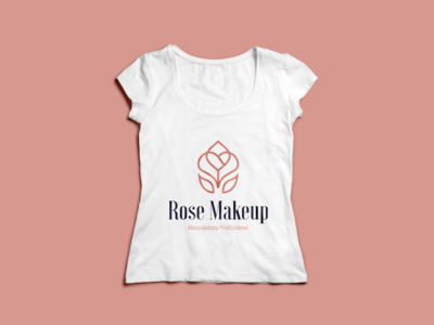 Design de Logotipo Rose Makeup (post 1/3)