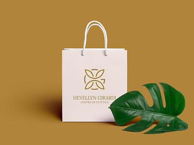 Design de Logotipo - Hevellyn Girardi Estética (post 2/2) estética dourados ms bruno henris design de marcas logotipo identidade visual branding designer design gráfico design