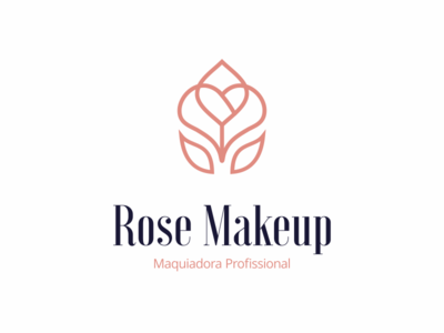 Logo Design Rose Makeup