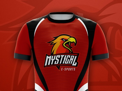 Jersey Esports Design for Mystical