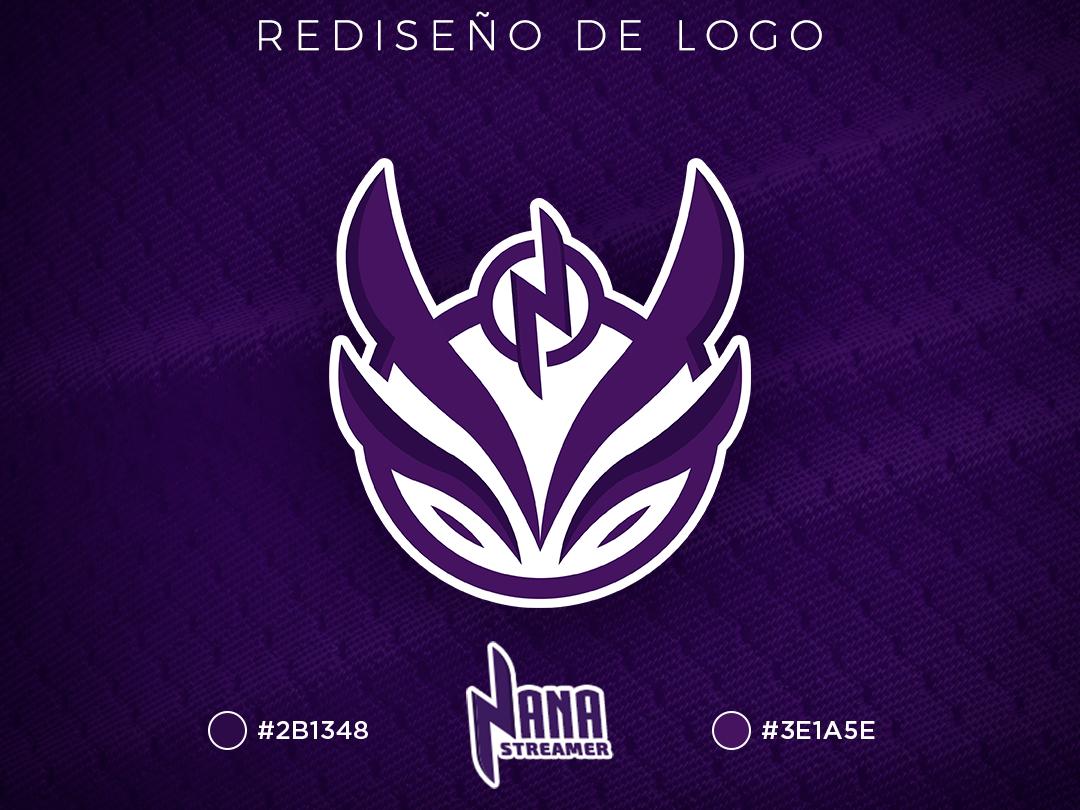 Nanabrs Logo logodesigner logodesign design videogame logotype logo gaming esports stream streamer