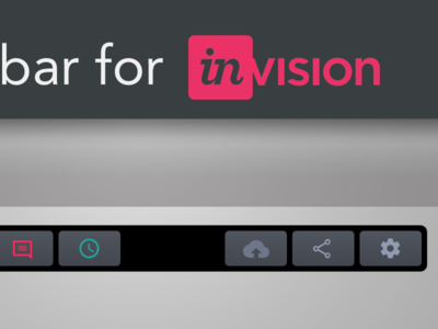Invision Touch Bar   Track Pad invision track pad touch bar