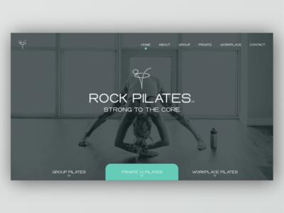 Pilates studio web design. pilates studio pilates website design design website