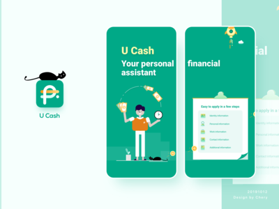 Fincace - U Cash-UI/UX/Visual