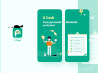 Fincace - U Cash-UI/UX/Visual