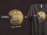 norobos alpha typeface