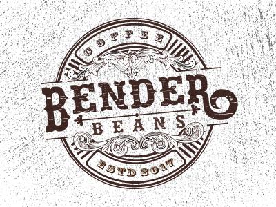 A classic logo bender design graphics coffeeshoplogo vintagelogo classiclogo logo