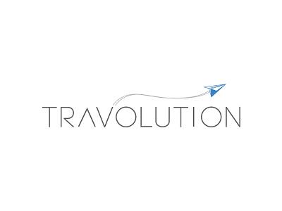 Travolution Logo softwarelogo brand identity graphics logo
