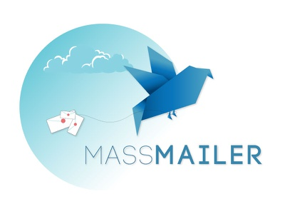 Massmailer brand identity softwarelogo graphics logo