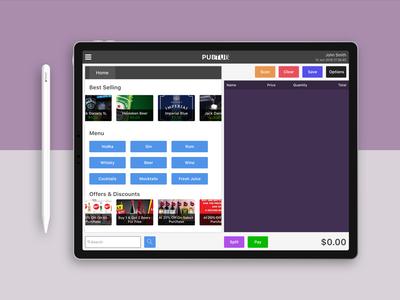 PubTub Bar POS application