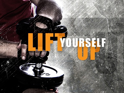 Lift Yourself Up Banner 800x600 athlet gym bodybuilding weight lifting liftday