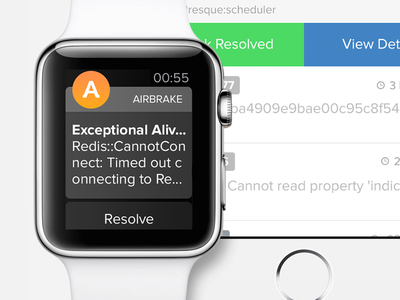 Airbrake Coming to Wrists Near You apple watch apple iphone 6 watch ui ux airbrake error