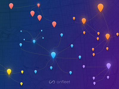 Onfleet Octopi Desktop Picture picture desktop links system dash map pin freebie wallpaper