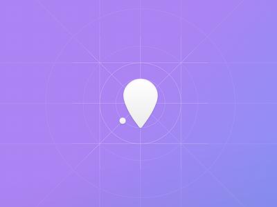 New linked task icon pin minimal minimalism simple link sketch onfleet icon
