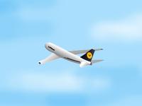 Lufthansa Airplane1