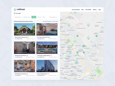 LoftSmart - Search Page