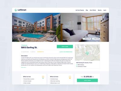LoftSmart - Property Page